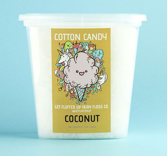 coconut cotton candy