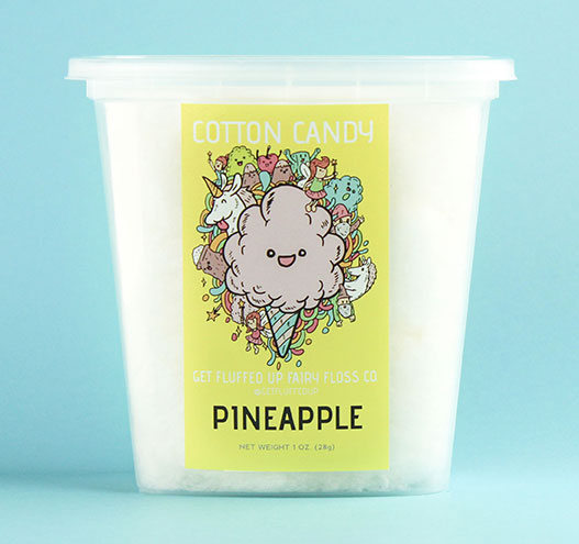 pineapple cotton candy
